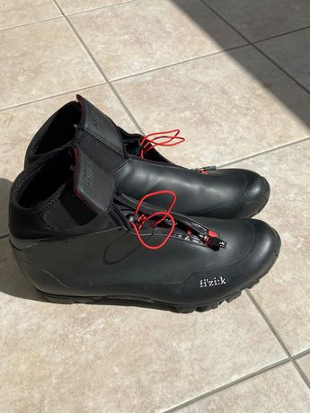 Зимняя велообувь Fizik Artica X5, велотуфли, велосипедная обувь