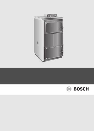 Cazan combustibil solid Bosch 5000 w k 32-1 saw 62 - centrala lemne