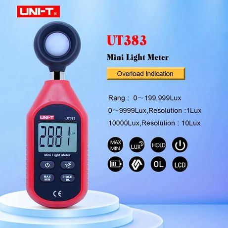UNI-T UT383 lux metru