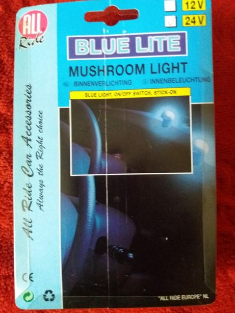 Blue mushroom light auto