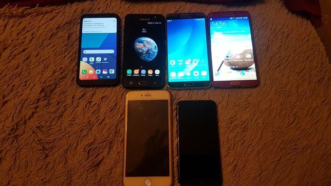 Iphone 6+,Samsung j5,not3,not5,LG Q6