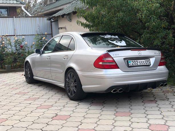 W211 Mercedes,бампер,порог,спойлер и тд