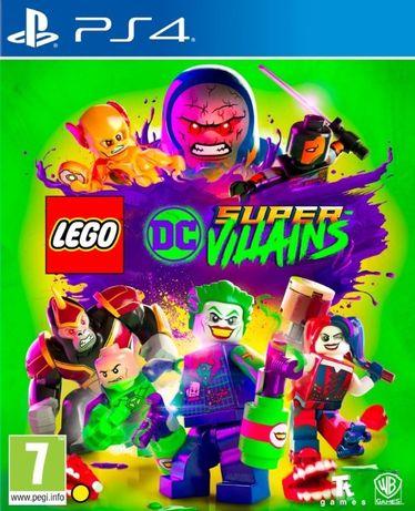LEGO DC Super-Villains / PS4 / Игра / Нова / Playstation 4 / TV