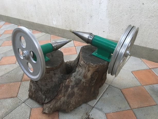 Ansamblu con+lagar+fulie masina crapat despicat spart lemne