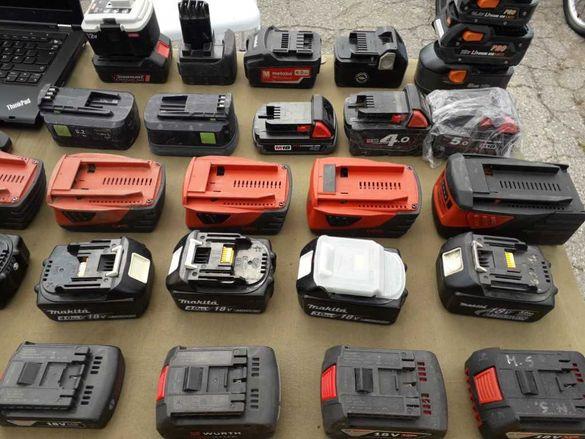 Li-On батерии - Hilti Makita Bosch Festool Milwaukee Hitachi