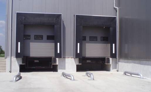 Ремонт, доставка и монтаж на водачи за паркиране за товарен пункт.