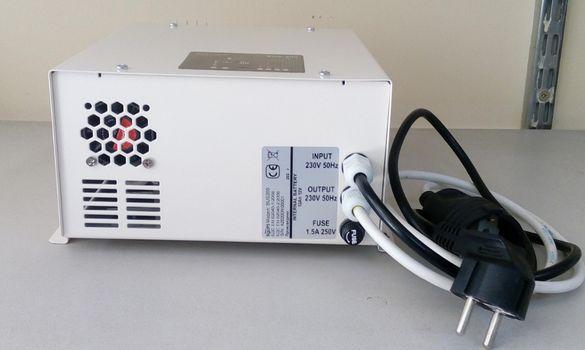 BUS200 - синусоидален ups за газов котел с батерия и изводи за външна