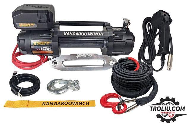 Troliu sufa sintetica VipeRope K 12000 EXTREME HD PowerWinch/Kangaroo