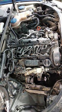 Двигател2,0tdi143к.сТурбо съединител и маховик АудиА4,А5,Q5и Сеат exeo