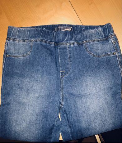 НОВИ Дънкови панталони Mango Kids, 11-12г, 152