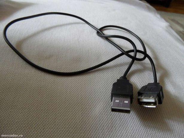 Cablu prelungire USB pentru laptop sau pc lungime 50cm