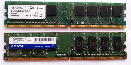 RAM памет DDR2 1 GB