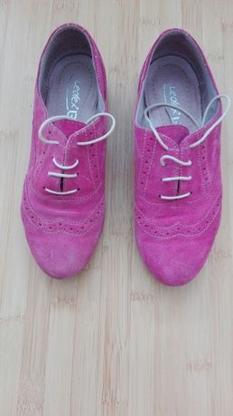 Pantofi femei piele intoarsa