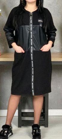Стильное платье большого размера 54, 56, 58, 60