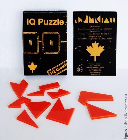 IQ PUZZLE - игра головоломка для взрослых и детей