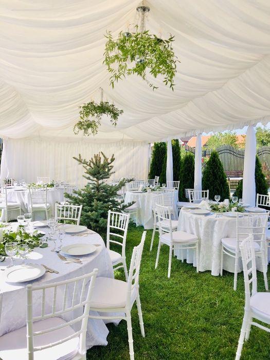 Inchiriem Cort Corturi evenimente nunta botez , scaune , mese , decor Slatina - imagine 1