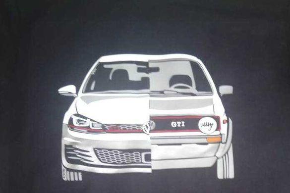 Тениска VW Volkswagen Golf GTI ФВ Фолксваген Голф ГТИ