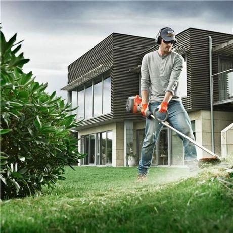 Косене на трева, почистване на дворове, терени, парцели от храсти, ряз