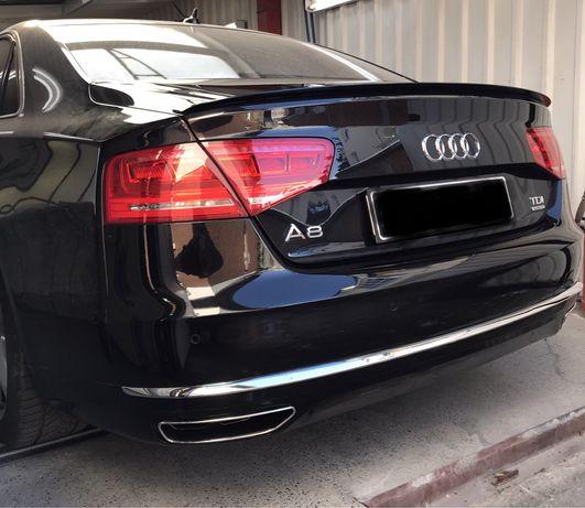 Audi A8 W12 дифузьор 4H задна броня S8 матрикс фейс В12 D4 ауспух ABT