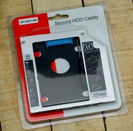 montare ssd hdd Caddy Laptop 12.7mm sau Slim 9.5mm Sata -nou