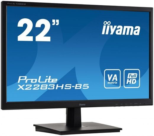 """Монитор 21.5"""" iiyama ProLite X2283HS-B5. Для Лото Клубов"""