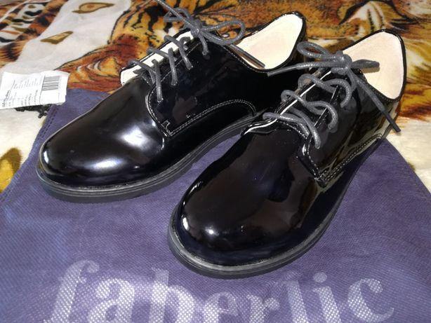 Школьные ботинки для девочки Faberlic НОВЫЕ