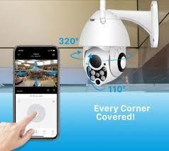 Наружная камера видеонаблюдения Wi-Fi camera наблюдай из смартфона