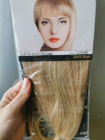 Чёлка из натуральных волос