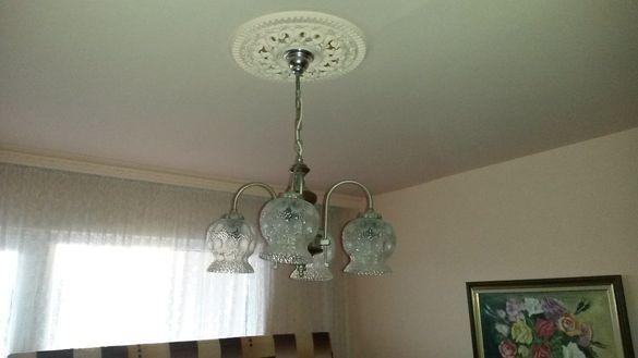 Продавам полюлей, стенна лампа и настолна лампа