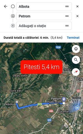 Teren Albota intravilan 5 km Pitesti