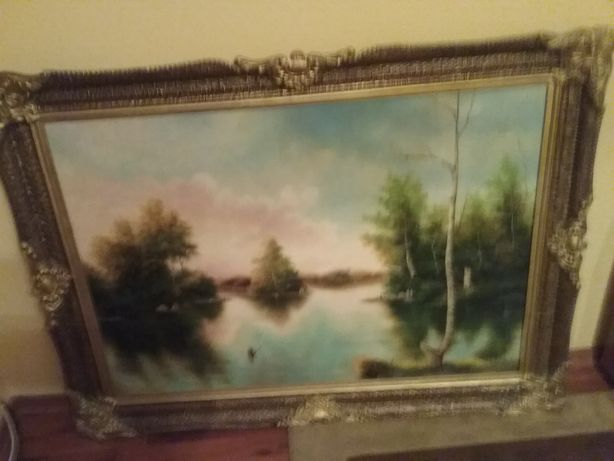 Tablou panza pictor amator