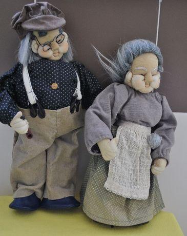 колекционерски кукли баба и дядо