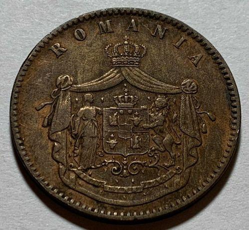 Монета Румъния 10 Бани (1867 година)