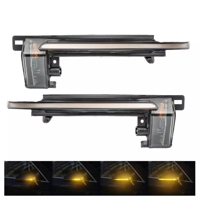 Set semnalizare dinamica repetitiva oglinzi laterale Audi A4, A6, A8