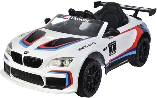 Masinuta electrica pentru copii BMW M6 GT3 (6666), Alb