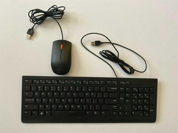 Продаю НОВЫЙ комплект Lenovo (проводная клавиатура + мышь)