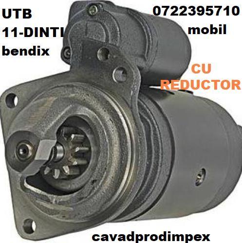 Electromotor cu reductor tractor UTB-703-11 dinti bendix ,putere 2.8kw