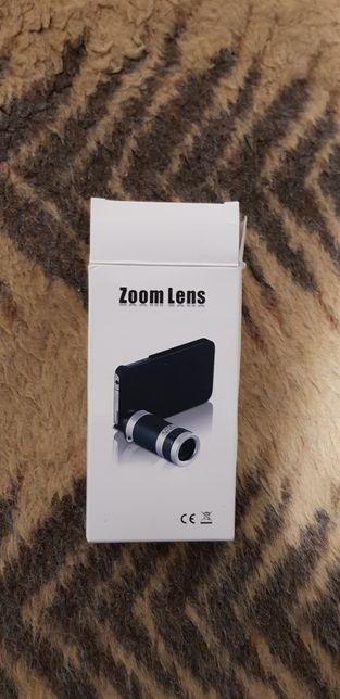 Zoom optic telefon mobil