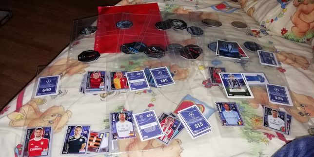 Topps Champions league&star wars