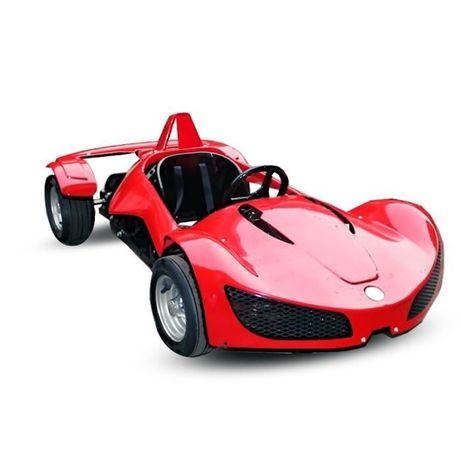 Masinuta electrica pentru copii RAZER GT 48V 1000W #RED