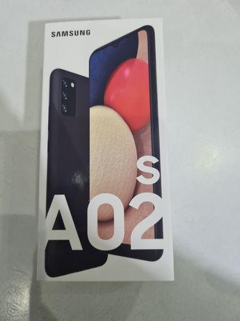 Samsung A02s черный новый