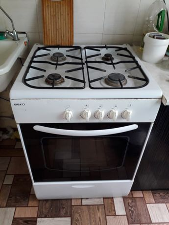 Газ плита Beko духовка газовая