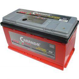 Baterie auto Caranda FORTZA 100Ah 850A Garantie 2 ani