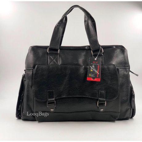 Кожаные дорожные сумки Sansi R-3 (8224)