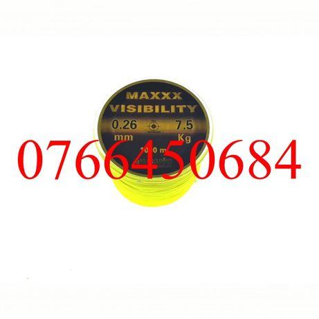 Fir Monofilament 1000 Metri Hakuyo Visibility Toate Diametrele