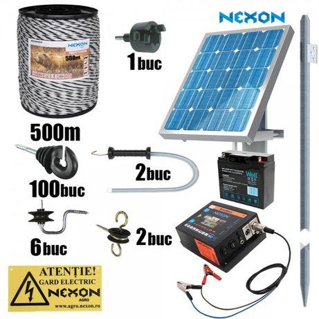 Gard electric NEXON HeavyShock 5J, Fir PROFESSIONAL 500m~220kg Solar