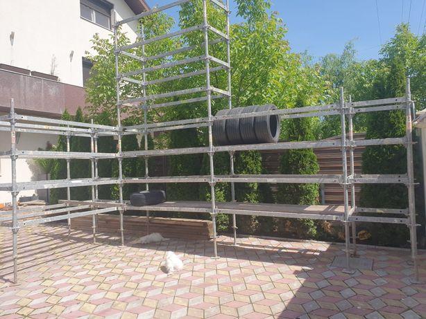 Schela modulara ,rafturi metalice otel galvanizat