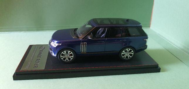 Macheta LCD 1:43 Range Rover SV Autobiography Dynamic 2018 Blue