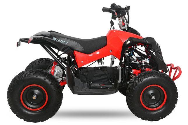 ATV electric pentru copii NITRO Eco Avenger 1000W 48V 6 inch #Rosu