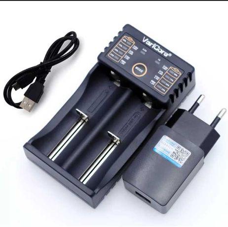 Зарядное устройство VariCore, V20i, новое, 18650 и др